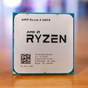 $224.99 (原价$249.99)AMD RYZEN 5 1600X 6C12T 3.6GHz AM4 处理器