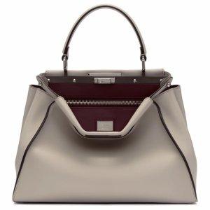 Grey Regular Peekaboo Bag