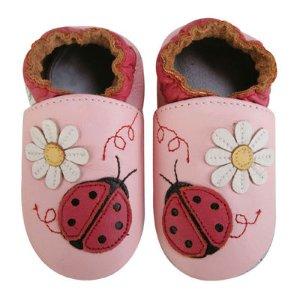 Momo Baby Ladybug Girls Crib Shoes-Baby - JCPenney