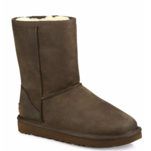UGG - Classic Short Leather Boots - saks.com