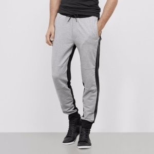 Jogger Pant with Faux Leather Details