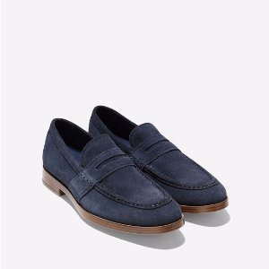 Men's Jefferson Grand Penny Loafers in Gulf : GrandRevolution | Cole Haan Outlet