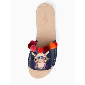 Kate Spade 骆驼拖鞋
