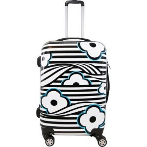 ful Floral Hardside 20in Spinner Upright Luggage - eBags.com