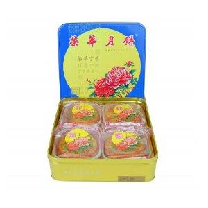 Wing Wah White Lotus Seed Paste Mooncake (2 Yolks) 740g