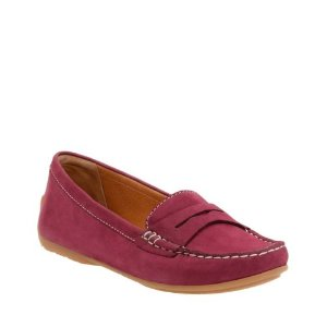 Doraville Nest Plum Nubuck - Shoes for Women - Clarks® Shoes Official Site