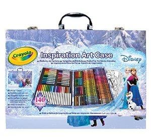 史低价 $11.18Crayola 绘儿乐冰雪奇缘绘画礼盒套装 150件
