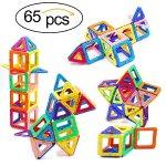 Amazon.com: Ranphykx Magnetic Building Blocks Toys 65 Piece Similar Building Toys Playing Magnetic Toy Bricks: Toys & Games