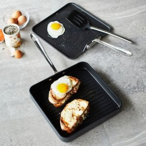 All-Clad HA1 Nonstick Grill and Griddle, Set of 2