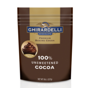 100% Unsweetened Ground Cocoa (8 oz.) | Ghirardelli