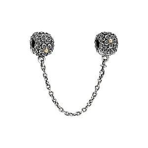 PANDORA Bouquet 14K & Silver Chain Charm