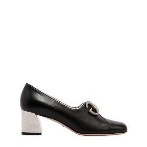 GUCCI - 55MM BIBA LEATHER PUMPS - PUMPS