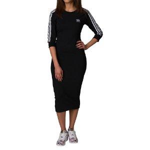 Adidas ADIDAS 3 STRIPE DRESS - Black | Jimmy Jazz - BK0016-001
