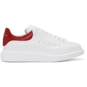 Alexander McQueen: White Oversized 小白鞋