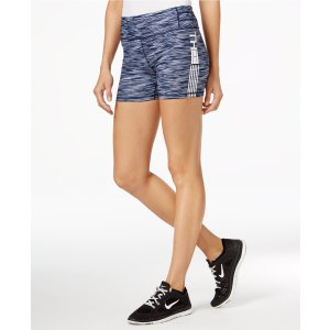 Tommy Hilfiger Sport Space-Dyed Shorts, A Macy's Exclusive - Pants - Women - Macy's