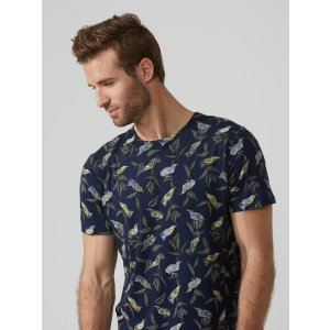 Loose Fit Large Bird Print T-Shirt | Frank And Oak