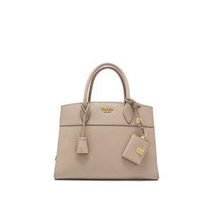 Prada Saffiano City Calf Esplanade Handbag 30cm