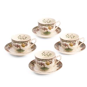 8pc Grove Teacup & Saucer Set