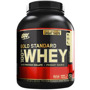 Gold Standard 100% Whey - Vanilla Ice Cream (3.5 Pound Powder)