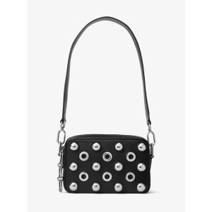 Julie Small Embellished Leather Camera Bag
