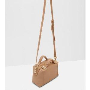 ALBETT Leather small tote bag