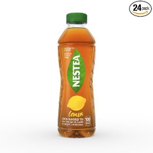 $9.68 NESTEA Lemon Flavored Iced Tea, 16.9-Ounce bottles (Pack of 24)