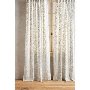 Petalwood Curtain | Anthropologie