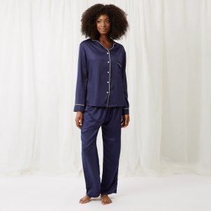 Claudia Shirt and Trouser Navy – Bluebella