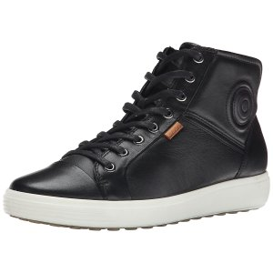 Ecco Ecco Soft 7 Ladies, Women's Hi-Top Sneakers, Black (black01001), 5 UK (38 EU): Amazon.de: Schuhe & Handtaschen