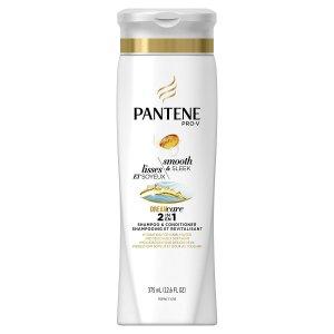 快囤!超低价再现$1.38销量冠军 Pantene Pro-V 丝质顺滑2合1洗发水375ml