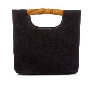 Black Nubuck Mini Birch Tote | Simon Miller | Avenue32