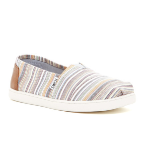 TOMS | Classic Mini Stripe Slip-On Shoe (Little Kid & Big Kid) | Nordstrom Rack