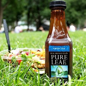 $6.67 + Free Shipping Pure Leaf Iced Tea, Sweet Tea, Real Brewed Black Tea, 18.5 Ounce Bottles (Pack of 12)