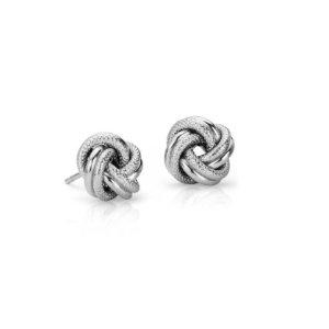 Interlaced Love Knot Earrings