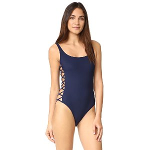 Tory Burch Lace Up One Piece