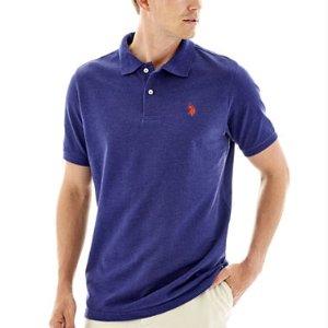 U.S. Polo Assn.® Heather Piqué Polo