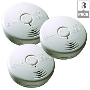 Kidde 10-Year Worry Free Battery Operated Smoke Alarm (Bundle of 3)-21027434 - The Home Depot
