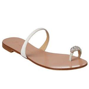 Giuseppe Zanotti Leather Toe Ring Sandal