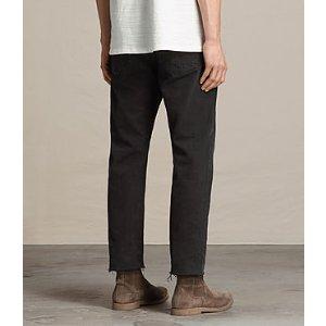ALLSAINTS US: Mens Boston Sid Jeans (Jet Black)
