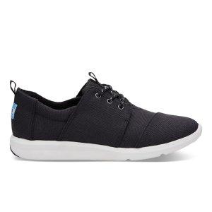 Black Poly Women's Del Rey Sneakers   TOMS®