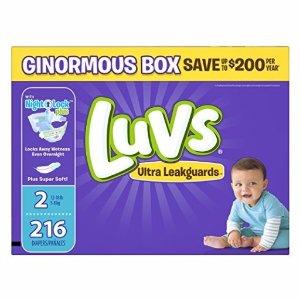 $13.58 平价好用又降:Luvs婴儿尿布4段 160片