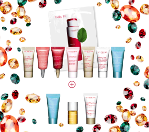Get 11 Samples Value Up to $94With $75+ Purchase @ Clarins