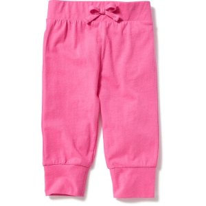 Jersey Tapered-Leg Capris for Toddler Girls