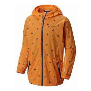 Youth Trail Flyer Water Resistant Vented Reflective Jacket | Columbia