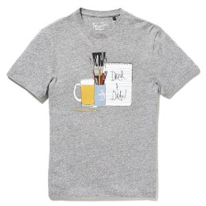 DRINK AND DRAW TEE