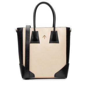 Leather Shopper - Manu Atelier | WOMEN | US STYLEBOP.COM