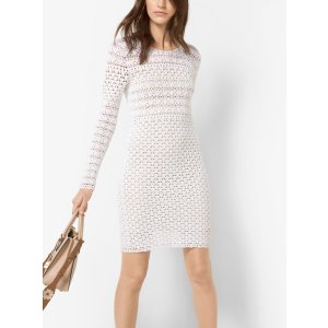 Hand-crocheted Cotton Dress | Michael Kors