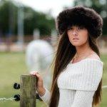 Hortons Kelmarsh Ladies Sheepskin Hat & Headband @ unineed.com