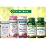Nature's Bounty 自然之宝保健品促销