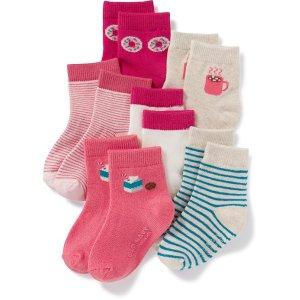 Crew Socks 6-Pack for Toddler & Baby